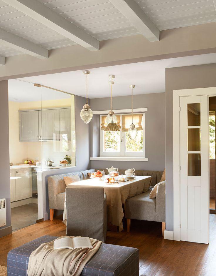 Resultado de imagen para decoracion de comedor sin mesa for Decoracion de interiores zona sur