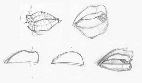 15 Dibujos A Lapiz De Formas Basicas Dibujos A Lapiz Como Aprender A Dibujar Como Dibujar Labios Dibujos De Labios