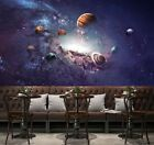 Universe Planet Space Full Wall Mural Print Decal Wallpaper Home Deco DIY Indoor  | eBay#decal #deco #diy #ebay #full #home #indoor #mural #planet #print #space #universe #wall #wallpaper