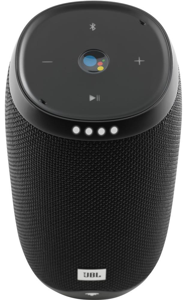 JBL LINK 10 Smart Portable Bluetooth Speaker with Google Assistant Black