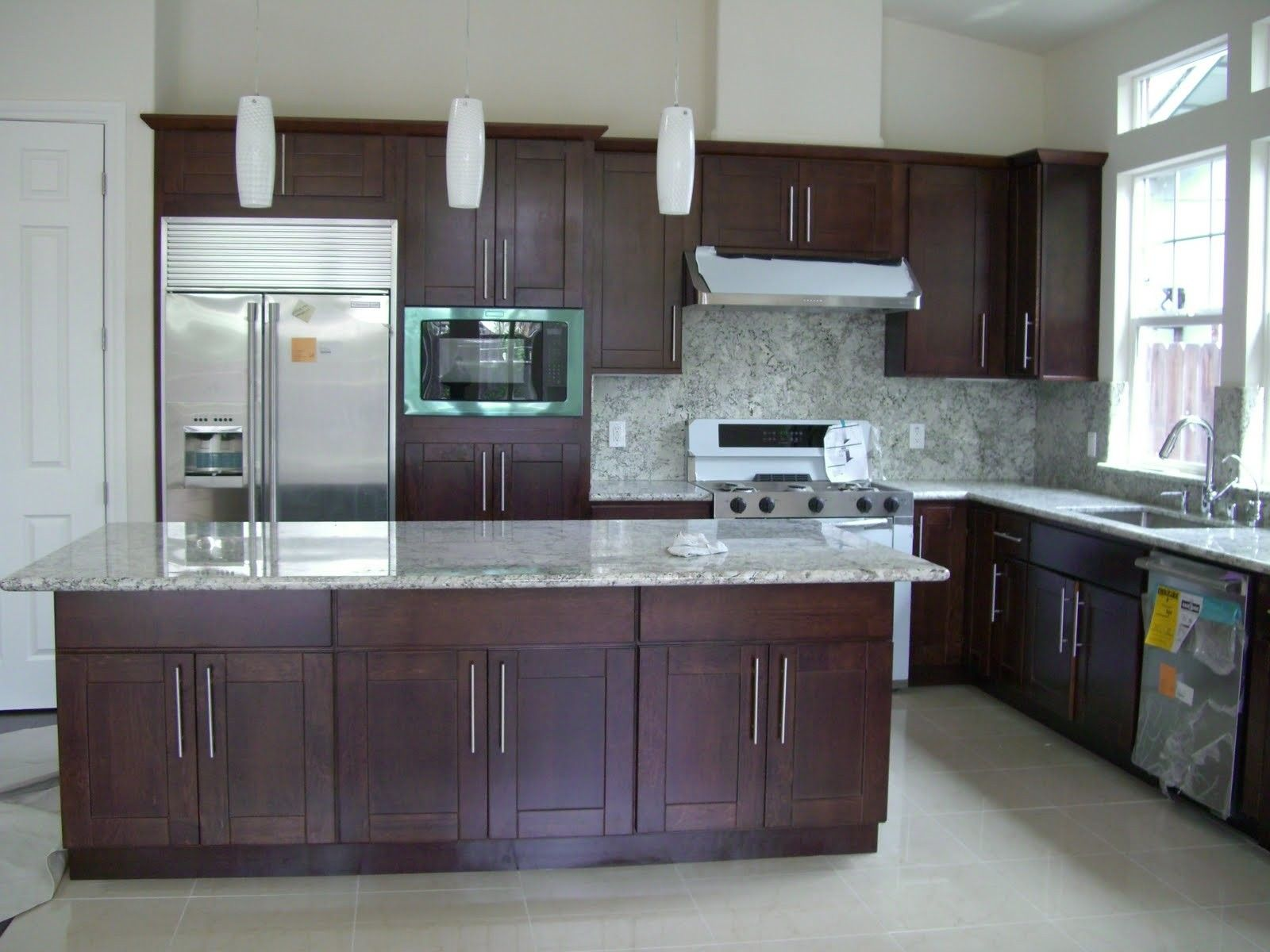 grey-kitchen-colors-with-white-cabinets-Cabinet ...