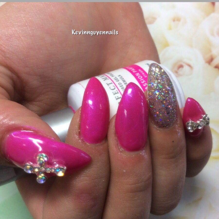 Nail art pointy design 3D | nails 3d | Pinterest | 3d