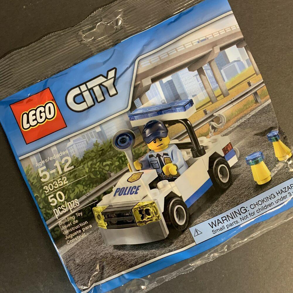 Lego 30352 City Police Car Polybag Brand New Sealed 673419268608 Ebay Police Cars Lego Police Station Lego City Sets