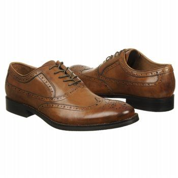 Men S Johnston And Murphy Tyndall Wing Tip Tan Shoes Com