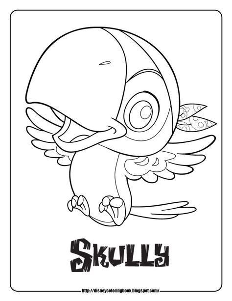 Jake And The Never Land Pirates Coloring Pages Skully Pirate Coloring Pages Coloring Pages Coloring Pictures