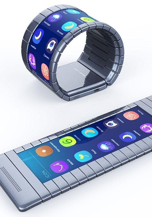Behold, the First Bendable Smartphone Is Here #coolelectronics