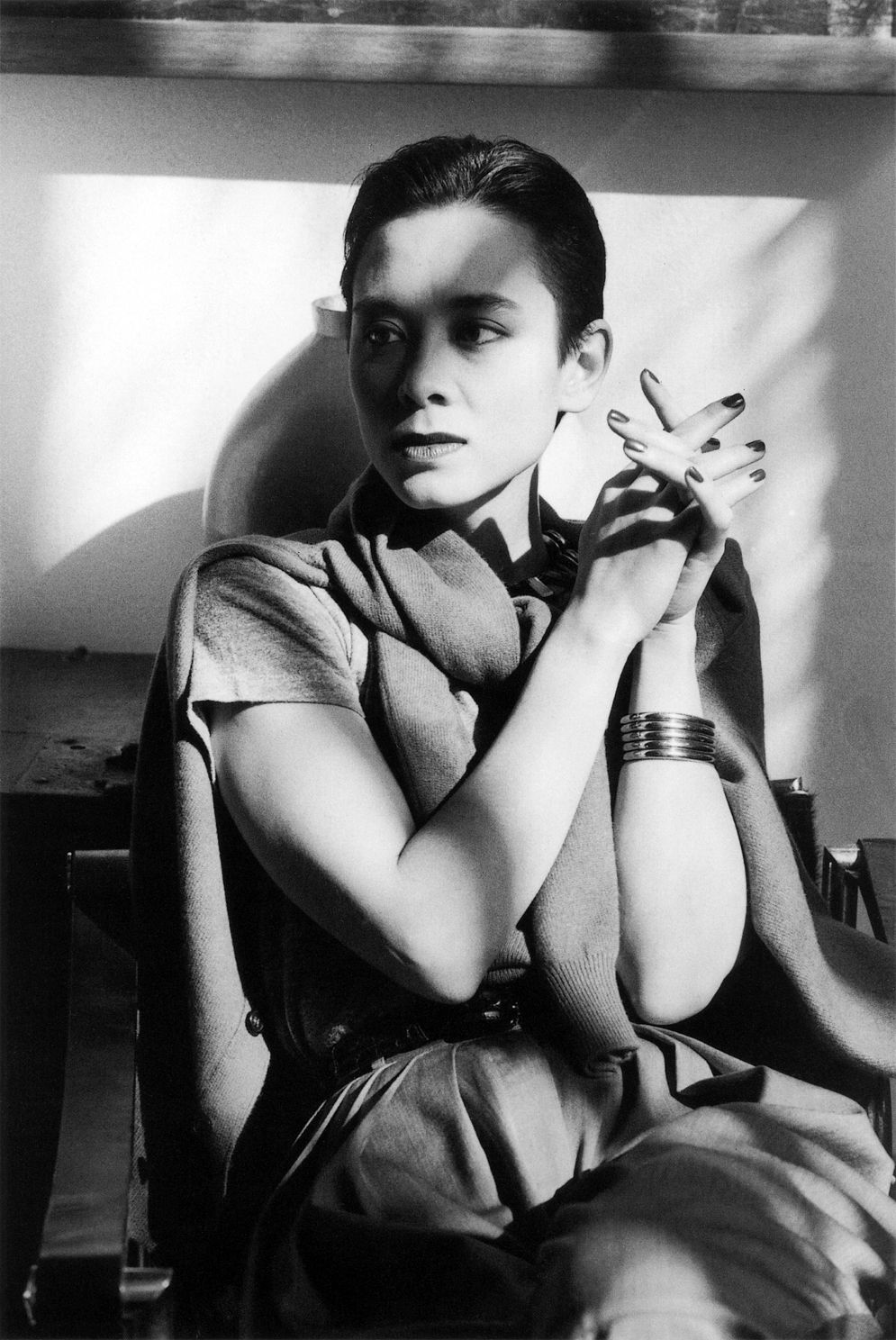 Tina Chow Photographed By Alice Springs Beverly Hills 1986