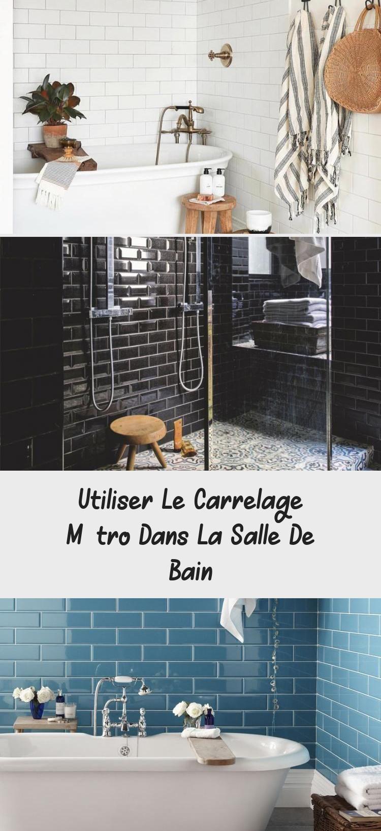 Utiliser Le Carrelage Metro Dans La Salle De Bain Vanity Bathroom