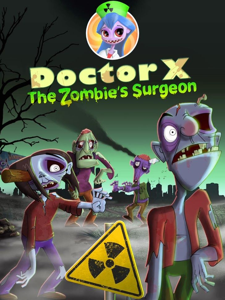 doctor x zombies halloween surgeon app kids game apps