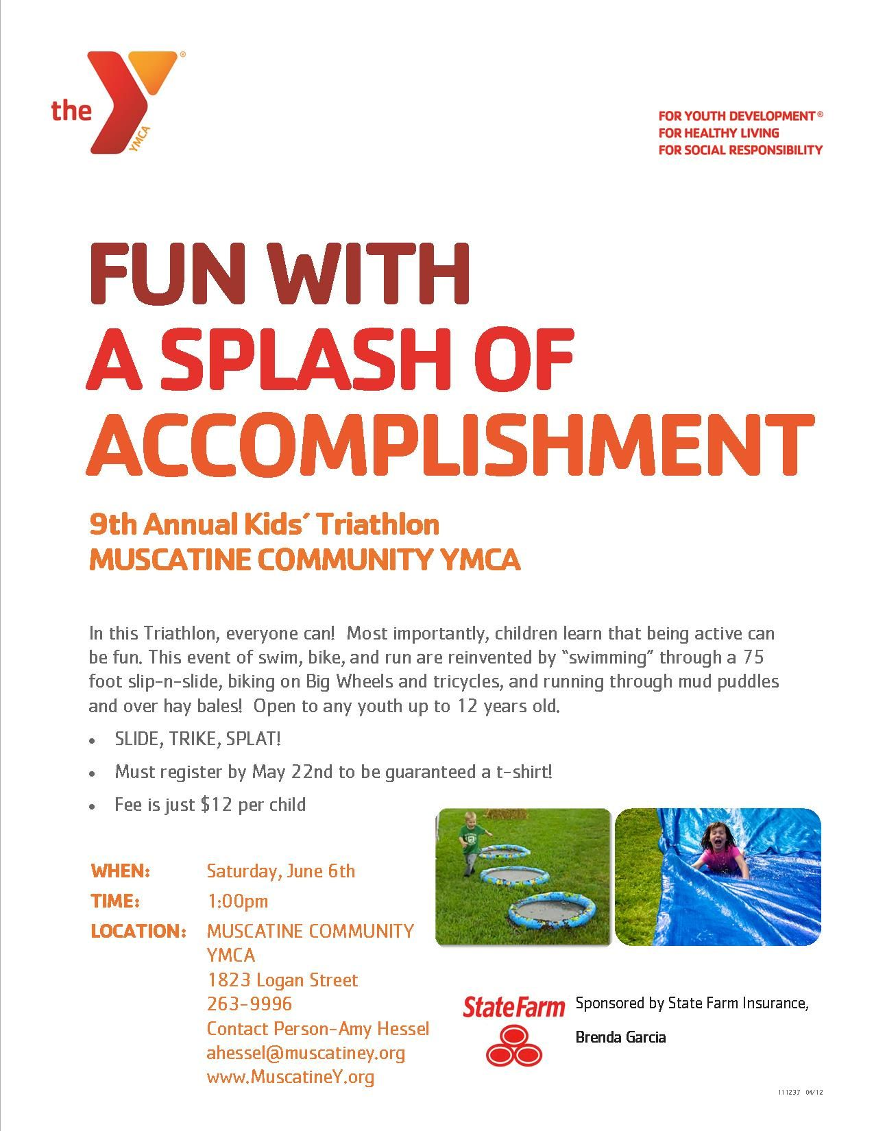 The Y S Fun With A Splash Of Accomplishment 9th Annual Kids