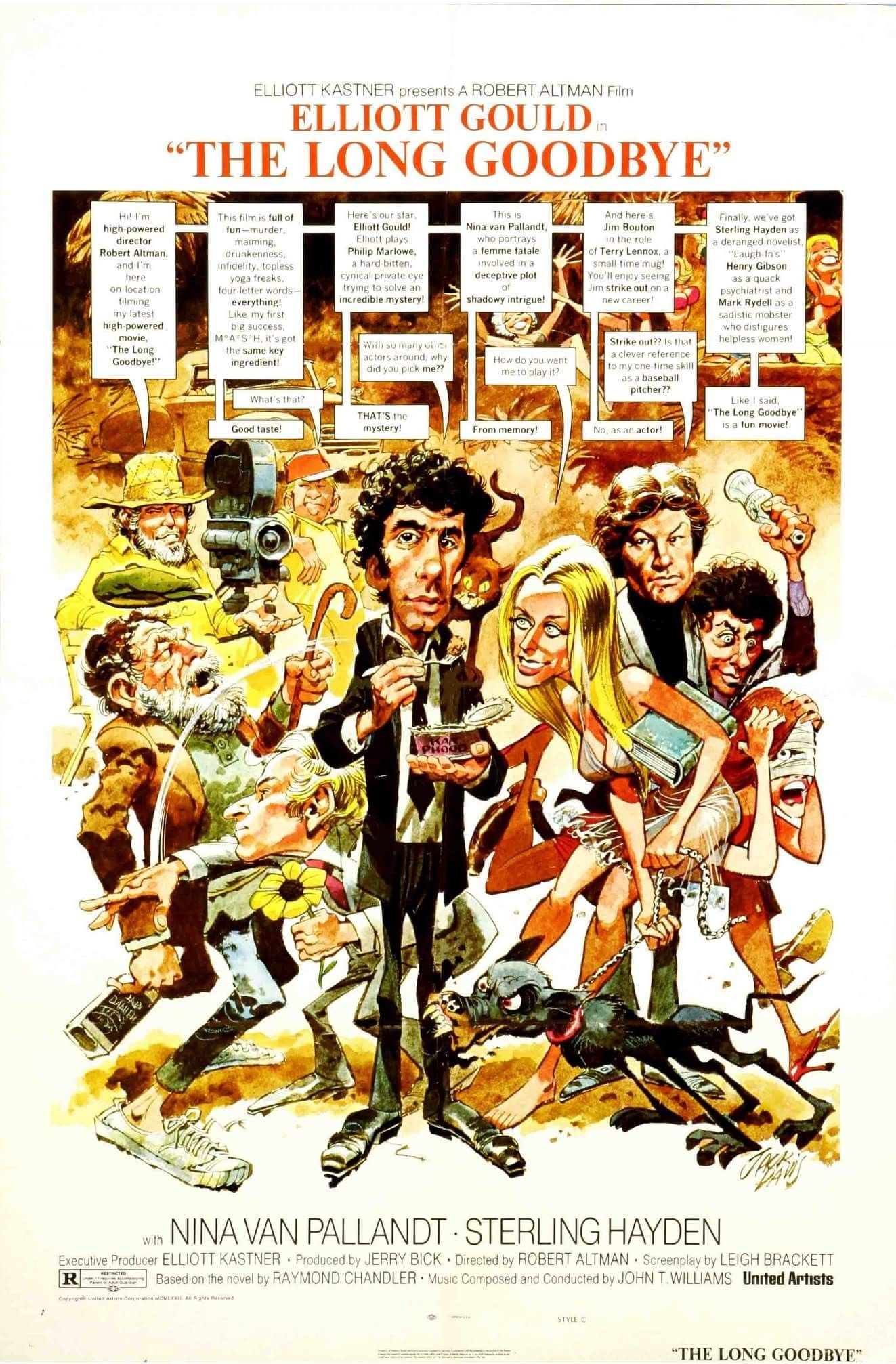 The Long Goodbye (1973) Filmposters