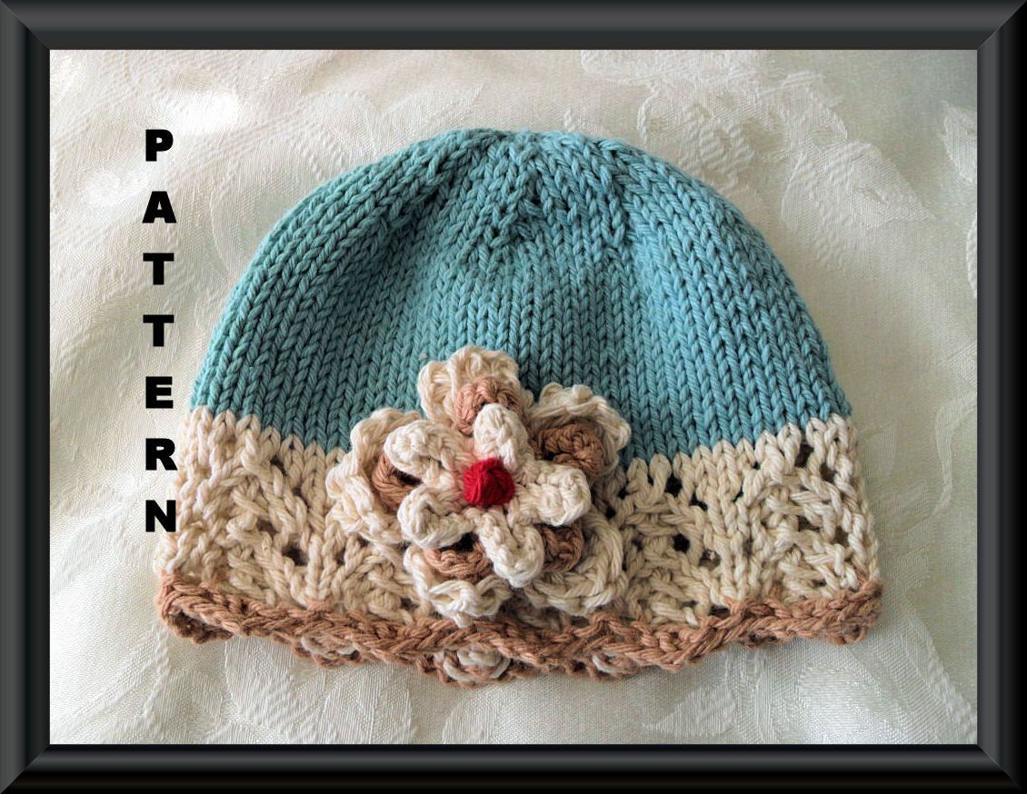 Knitting pattern for baby hat children clothing lace cloche hand knitting pattern for baby hat children clothing lace cloche hand knitted baby hat bankloansurffo Image collections