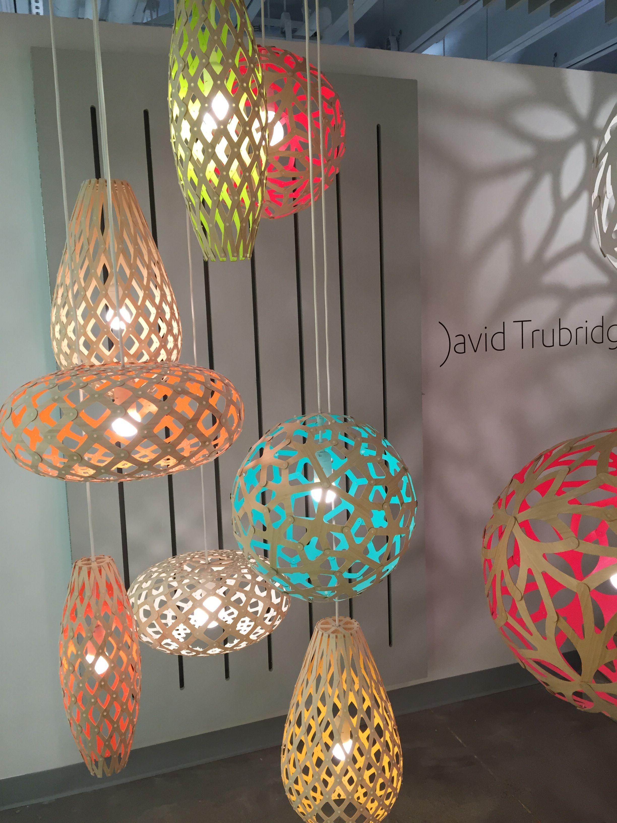 David Trubridge Lighting At The Dallas International Lighting
