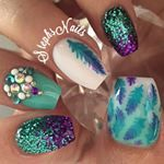 Stephanie Loesch @_stephsnails_ PrincessPeach #p...Instagram photo | Websta (Webstagram)