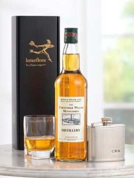 Personalised Whisky & Hip Flask