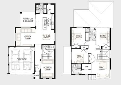 Planos de casas de dos pisos planos de casa de dos pisos for Planos de pisos grandes