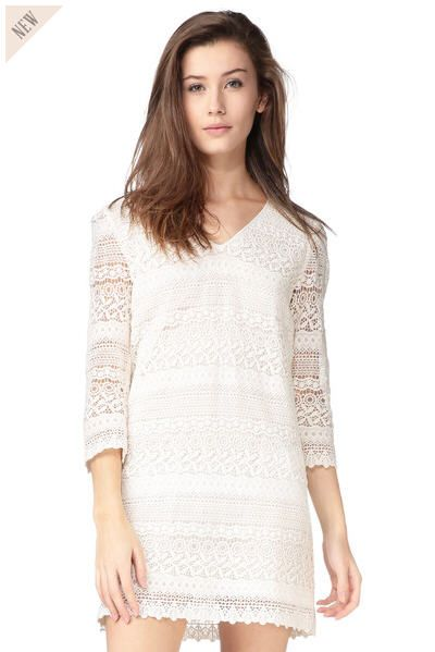 Robe superposition broderies Dorothy Blanc See U Soon prix Robe Monshowroom 119,00 €