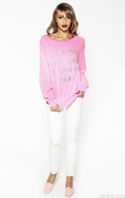 #Wildfox Couture          #love                     #LOVE #LIKE #SUMMER #BAGGY #BEACH #JUMPER #Wildfox #Couture #DAISY, #PARTY #GIRL                        LOVE YOU LIKE SUMMER BAGGY BEACH JUMPER at Wildfox Couture in DAISY, PARTY GIRL                                                   http://www.seapai.com/product.aspx?PID=472589
