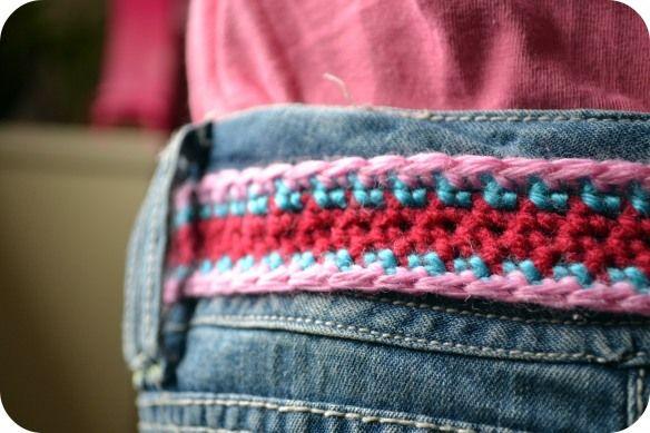 Girls Crochet Belt Crafts Pinterest Crochet Belt Crochet And