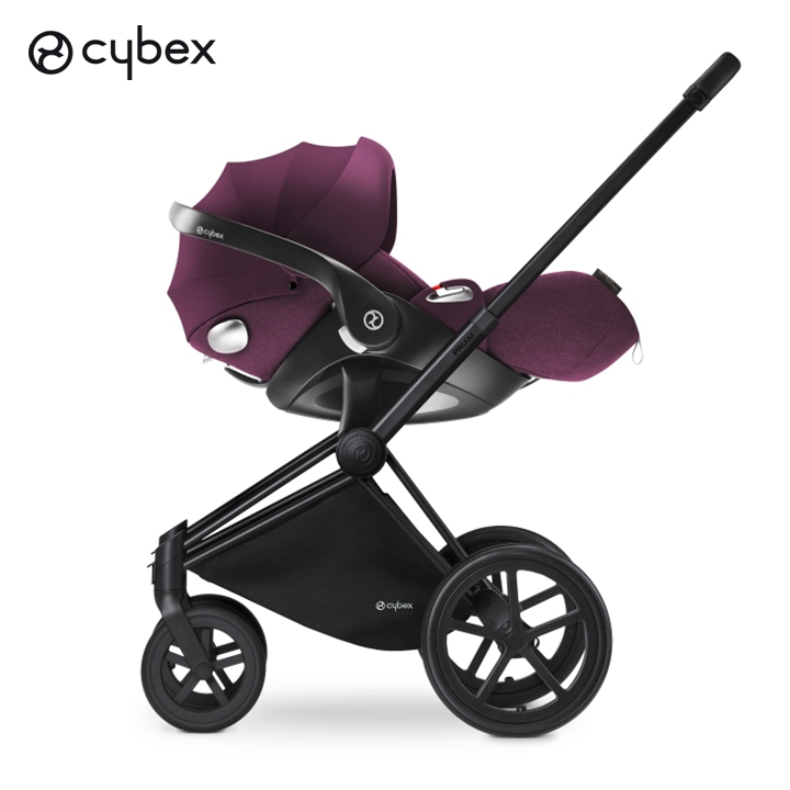 Using A Simple Adapter The CYBEX Cloud Q Plus Infant Car Seat Can Be Effortlessly Converted Into Travel System With PRIAM Stroller
