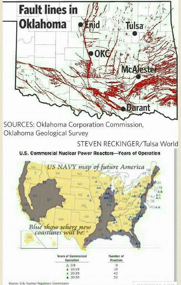 Fault lines in Oklahoma   LAWTON, OKLAHOMA & PLACES SURROUNDING IT ...