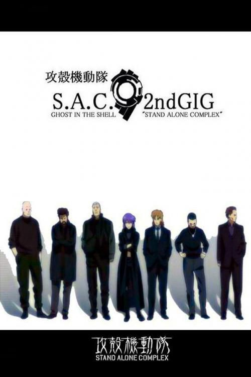 Ghost In The Shell Stand Alone Complex 2nd Gig Ghost In The Shell Ghost Fun Facts