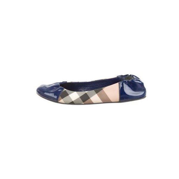blue burberry shoes