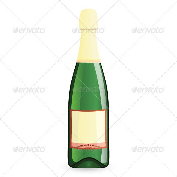 Realistic Graphic DOWNLOAD (.ai, .psd) :: http://jquery.re/pinterest-itmid-1002894600i.html ... Green bottle vector illustration ...  alcohol, background, bottle, celebration, champagne, crock, full, glass, green, illustration, isolated, label, occasion, reflection, sealed, shadow, space, sparkling, vector, white, wine, yellow  ... Realistic Photo Graphic Print Obejct Business Web Elements Illustration Design Templates ... DOWNLOAD :: http://jquery.re/pinterest-itmid-1002894600i.html
