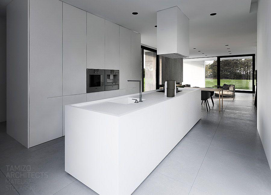 projekt wnetrz domu jednorodzinnego r house pabianice tamizo architects interiors. Black Bedroom Furniture Sets. Home Design Ideas