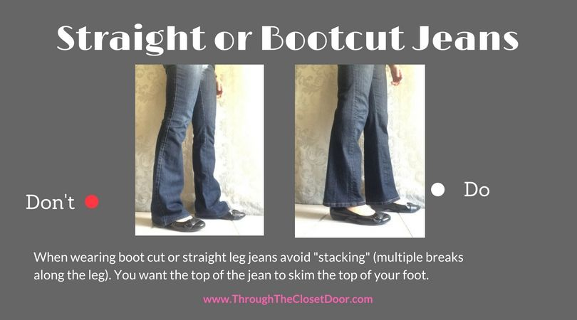 a173444ee30 How to wear flats with bootcut or straight leg jeans Are you unsure of how  to wear flats? Don't make these style mistakes! I was asked this question  months ...