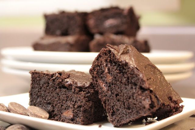 You don't need a holiday to enjoy this one! Best better for you brownie I've ever tasted!