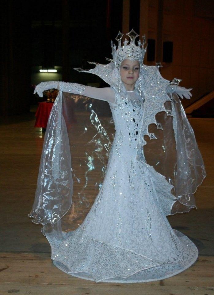 Костюм снежной королевы своими руками фото: 10 тыс. - Pinterest 49