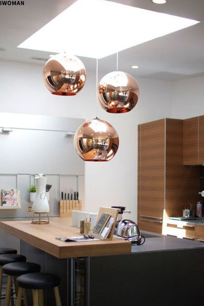 Design icon copper pendant light