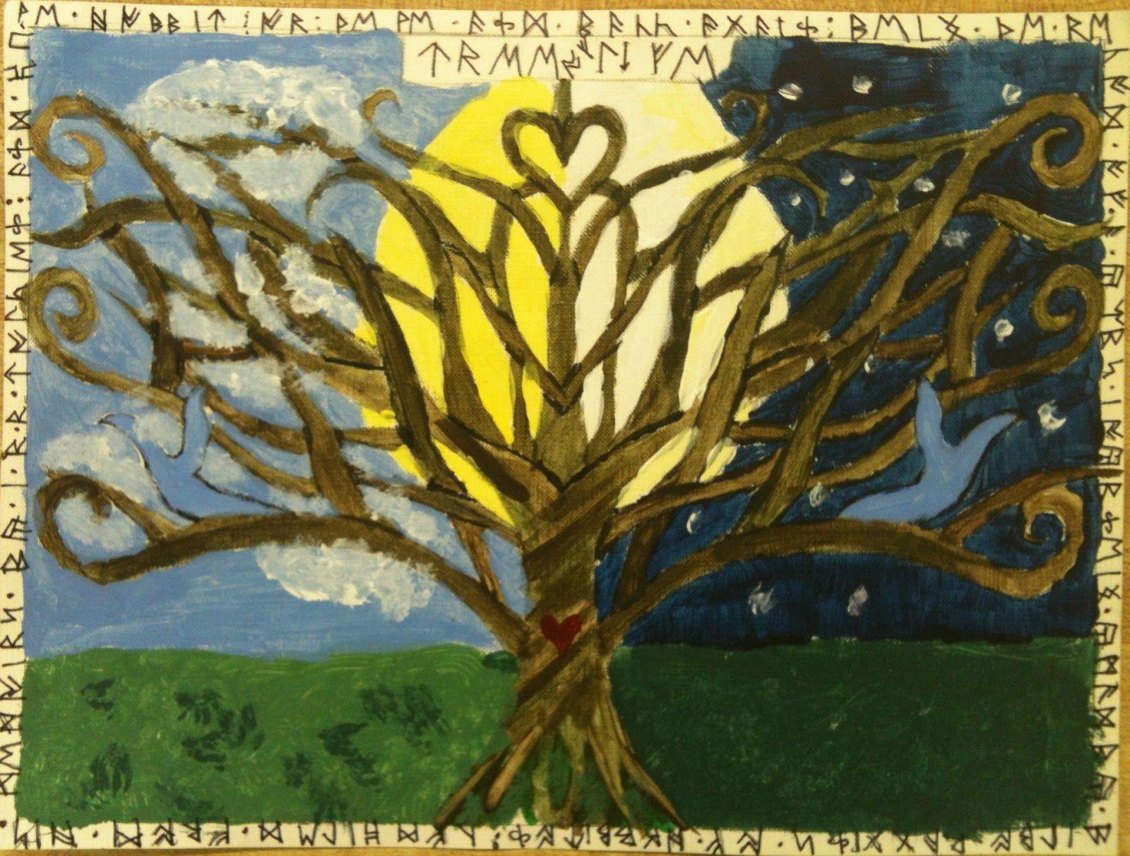 Scherenschnitte Tree Of Life Art