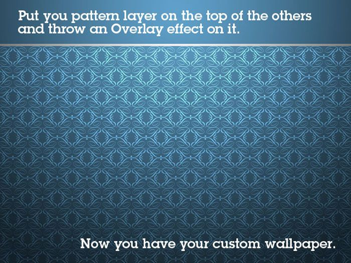 Make Your Own Wallpaper Step By Step Wallpaper Background