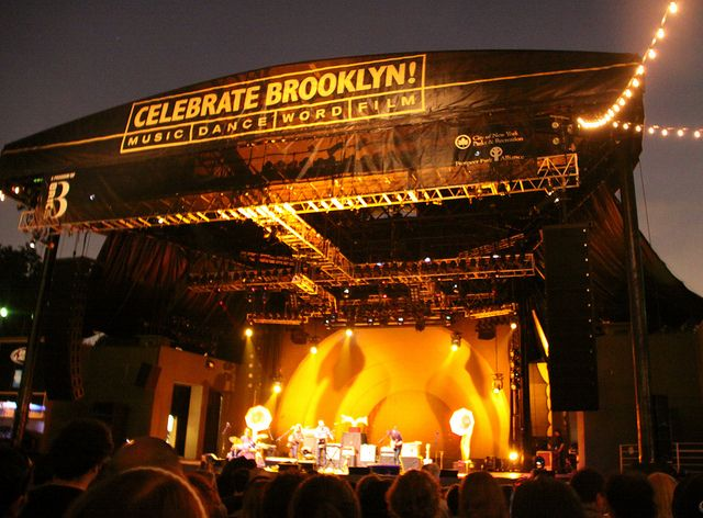 Who Say You Can T See Free Shows In Nyc I Do Every Summer At Prospect Park Bandshell Celebrate Brooklyn Outdoor Concert Concert Summer Outdoor
