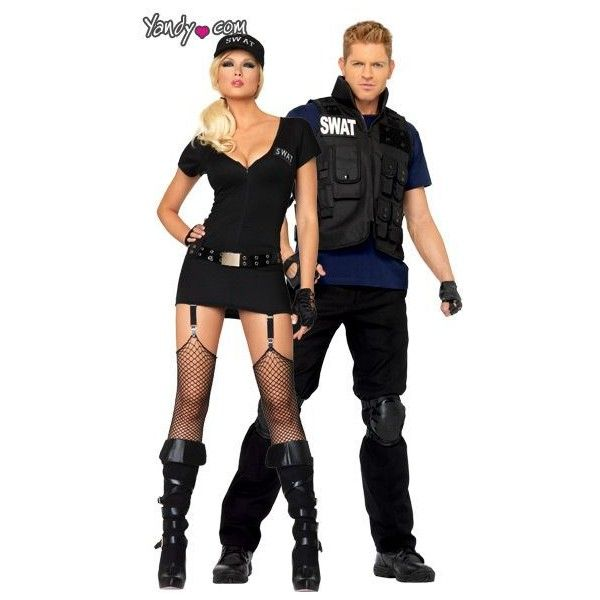 Sexy SWAT Couples Costume   FIC   Pinterest ? liked on Polyvore featuring costumes sexy couples costumes sexy black costume couples costumes sexy black ...  sc 1 st  Pinterest & Sexy SWAT Couples Costume   FIC   Pinterest ? liked on Polyvore ...