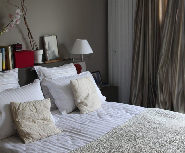 Photos d co id es d coration dans les tons beige - Deco chambre romantique beige ...
