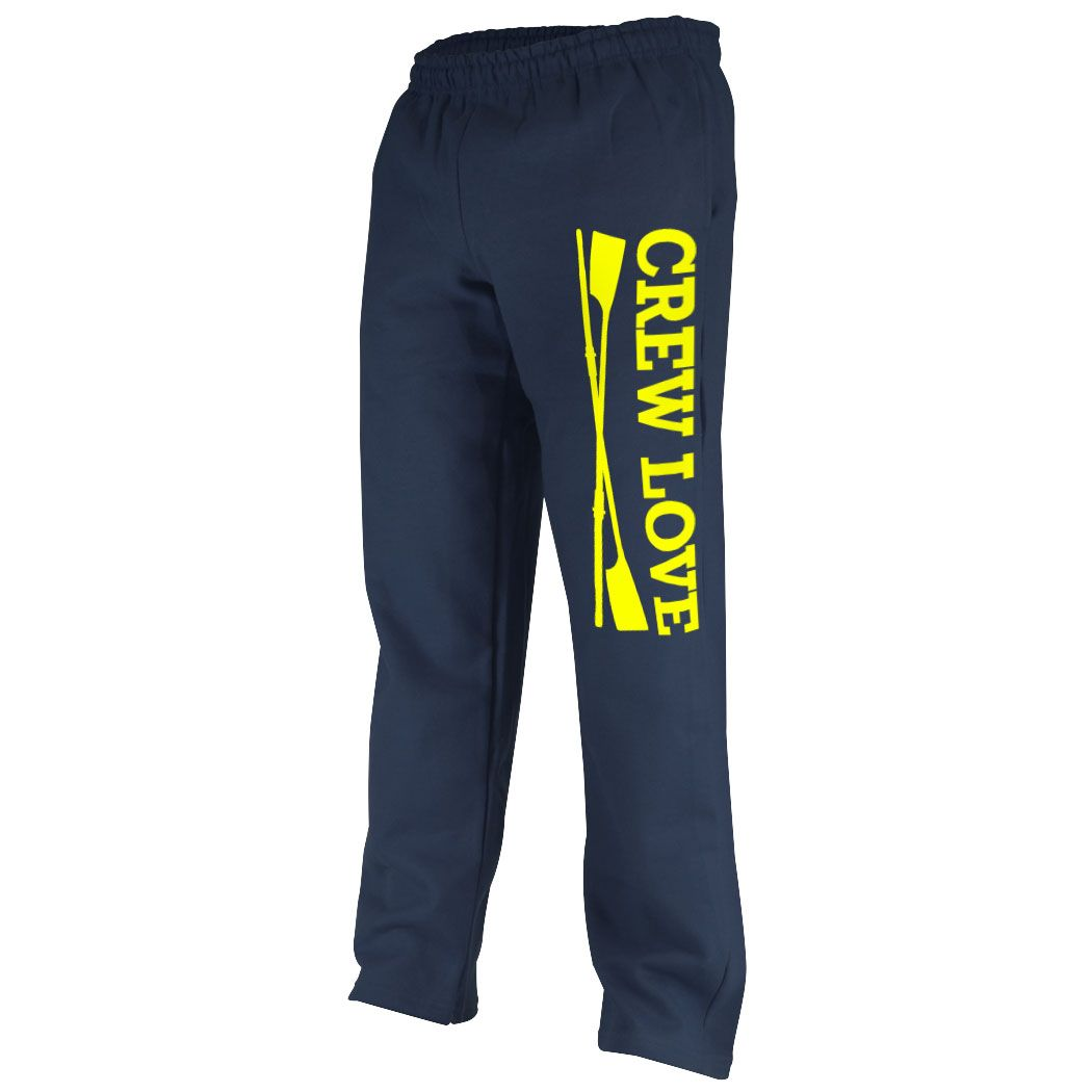 Crew Fleece Sweatpants - Crew Love | Crew Rowing Apparel | Adult 2XL