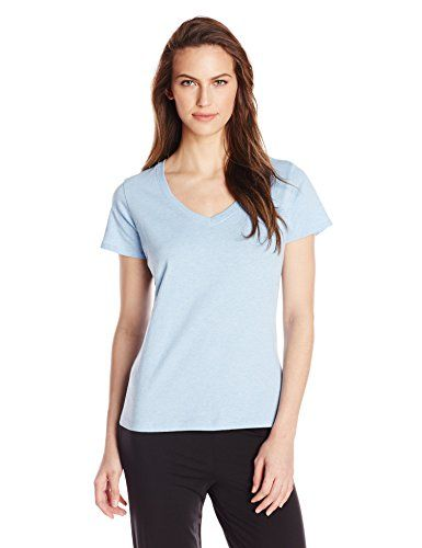 Jockey Womens VNeck Sleep Tee -- Details can be found by clicking on the  image. 0717feaf2