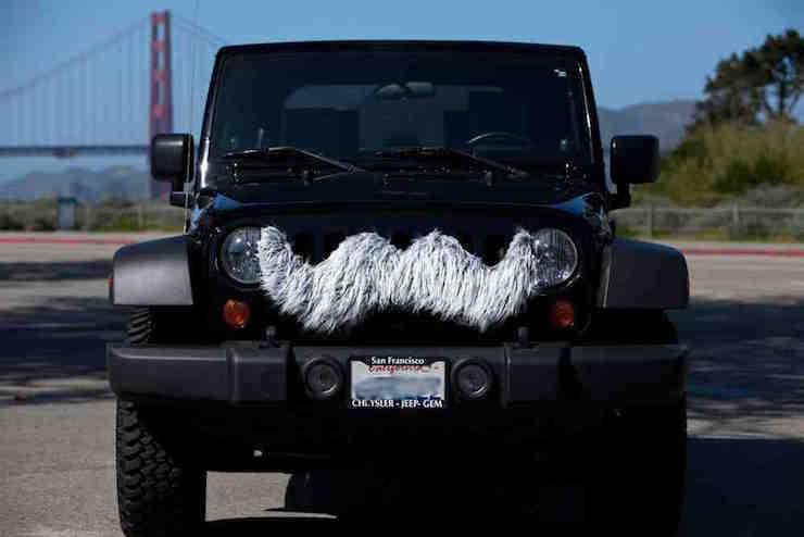 Top 10 Angry Eye Jeep Mods No 7 Perhaps A Mean Mustache Would Be A More Fitting Description Still A Great Grille Mod Jeep Jeep Dodge Chrysler Jeep