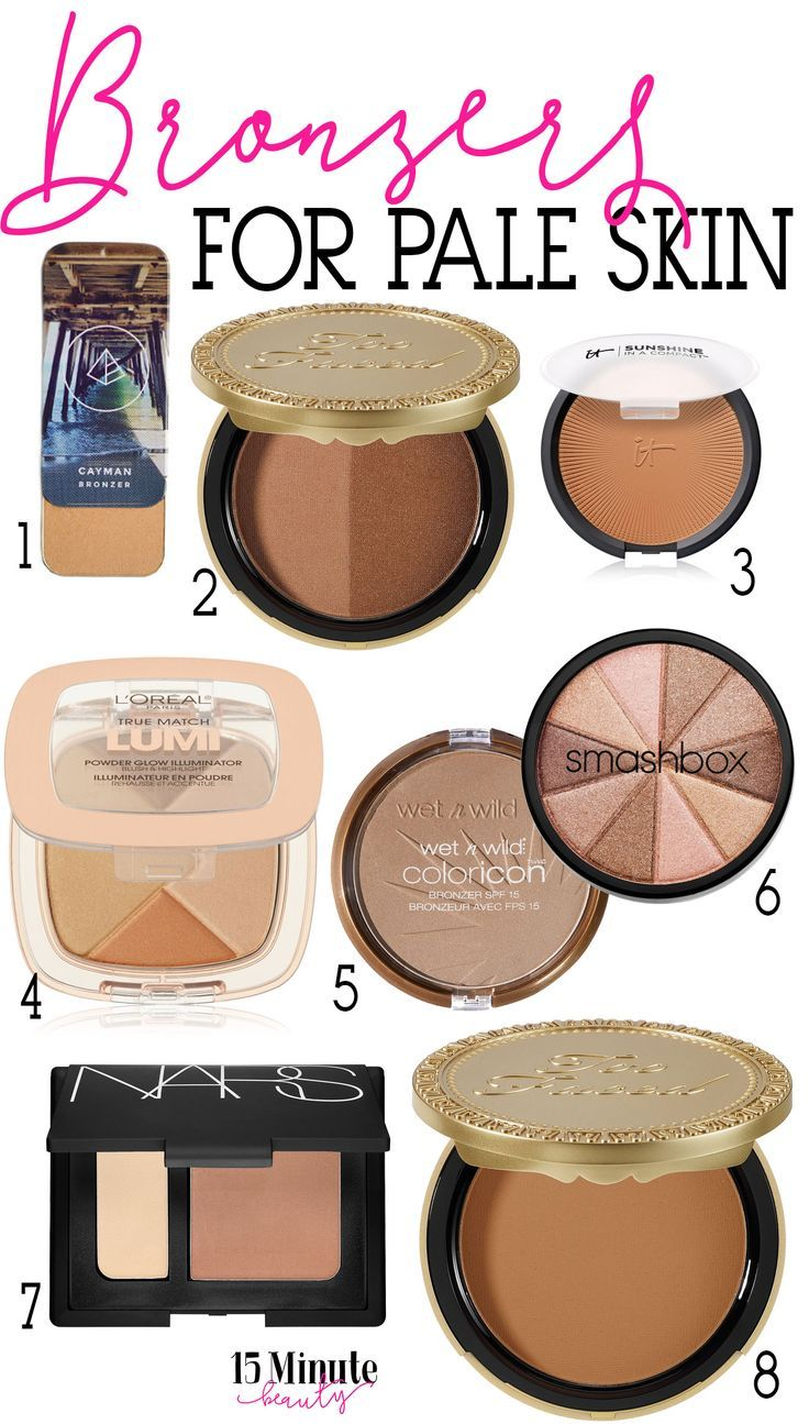 My Favorite Bronzers For Pale Skin The Pale Girl S Guide