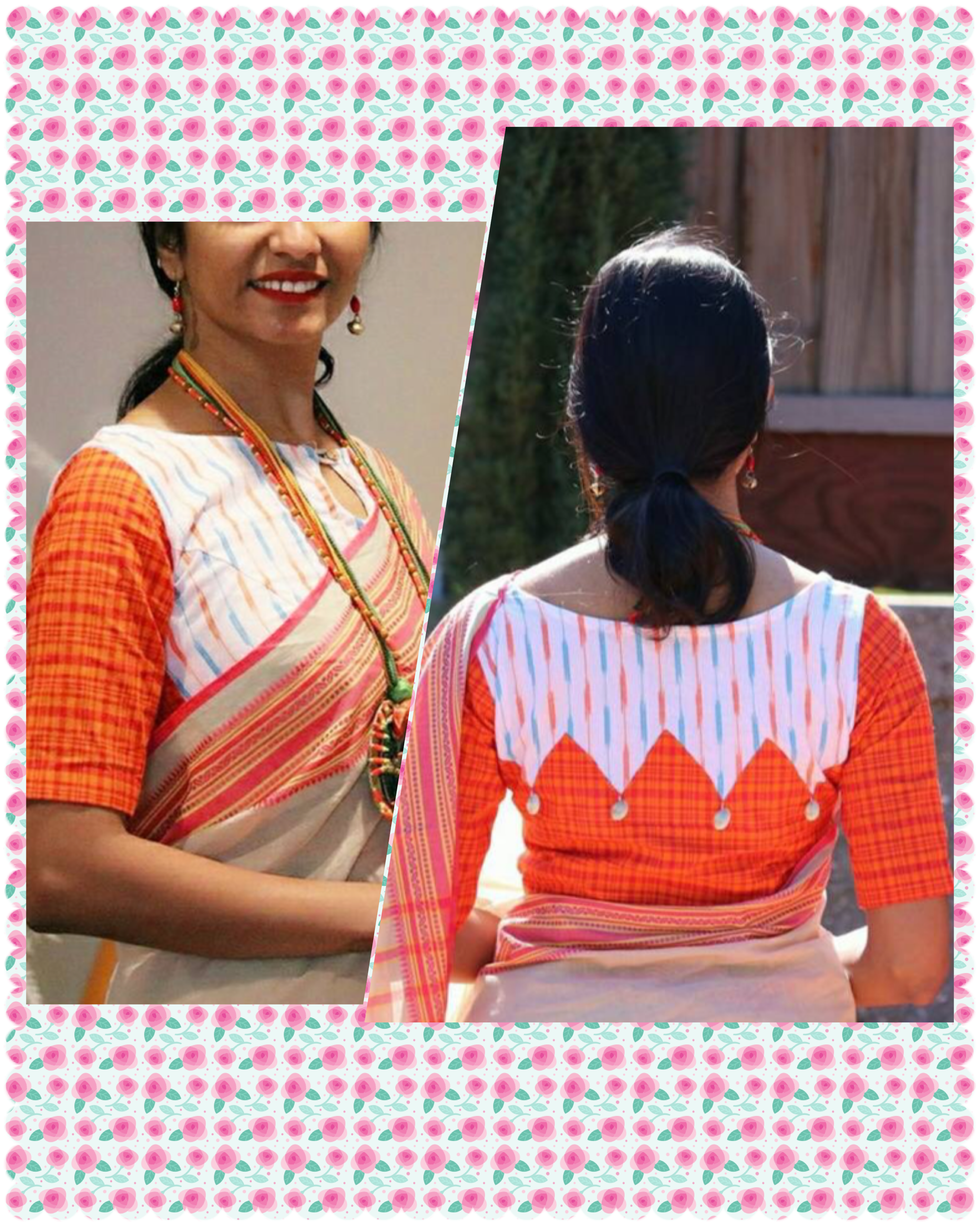 Saree blouse design patch work pin by niveditamd on blouse  pinterest  blouse designs design