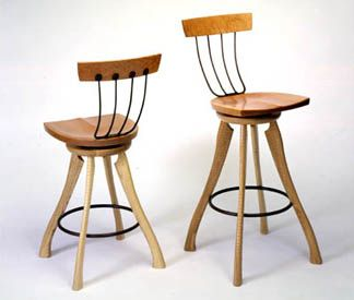 Pitchfork chairs by Brad Smith.