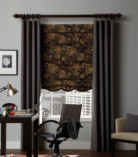Custom 20 Wide Flat Panel Curtain