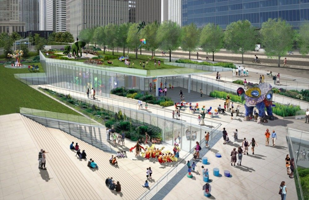 Chicago's Children's Museum gets a new construction proposal from Kruek & Sexton.  I think it looks fantastic.  I'd totally go there - with or without kids!