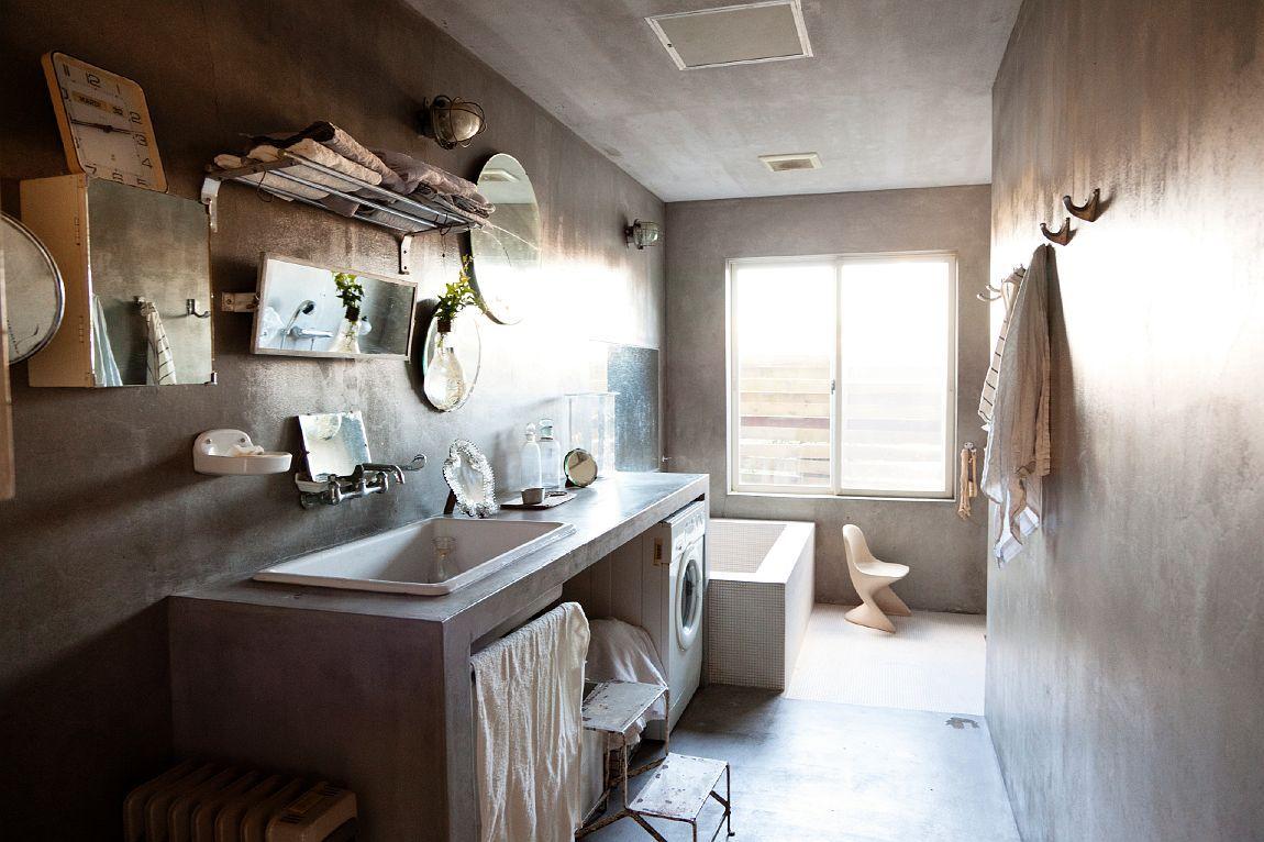 Bagno boiserie ~ Cemento per il bagno home sweet home bathroom