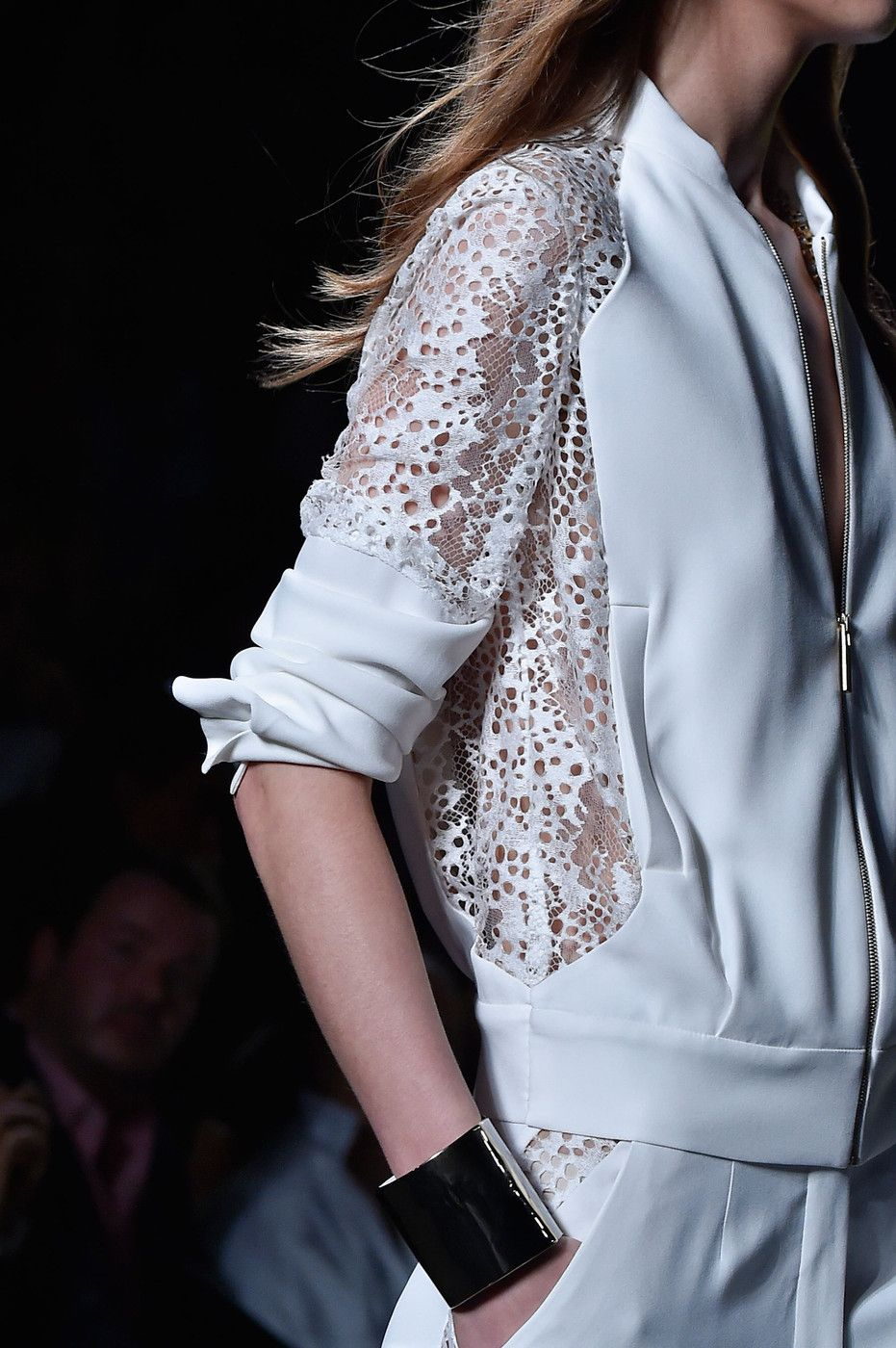 Elie Saab at Paris Fashion Week Spring 2015 #runwaydetails
