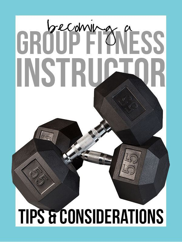 Becoming a Group Fitness Instructor: Tips & Considerations (real talk!) #fitness #groupfitness #teac...