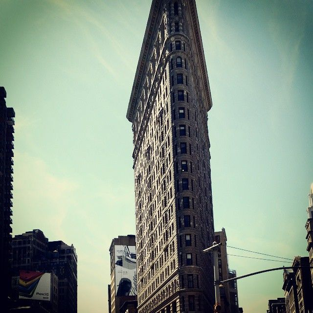 The Flatiron Building at 175 Fifth Avenue in NYC